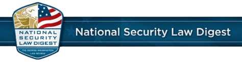 national security digest