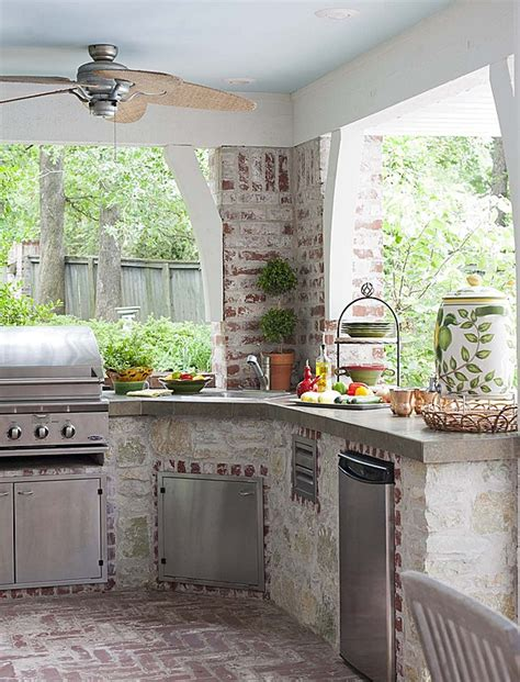 brick outdoor kitchen dig this trend outdoor kitchens zillow porchlight