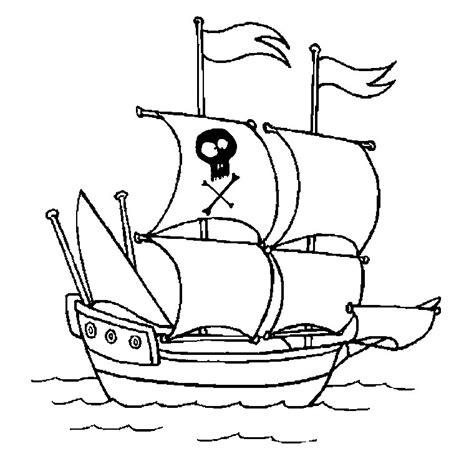 coloriage bateau pirate a imprimer gratuit - Dessin Bateau Pirate Imprimer