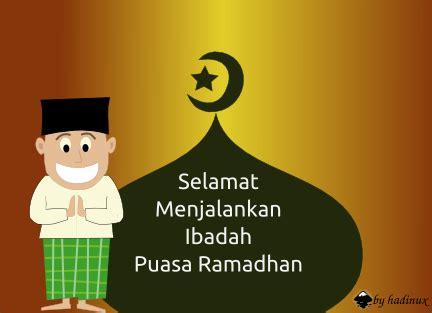 hadinux blog selamat menjalankan ibadah puasa ramadhan