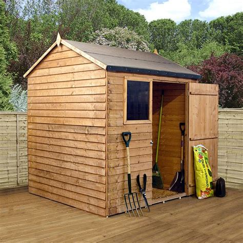 6 X 6 Sheds by 6 X 6 Walton S Overlap Apex Wooden Shed