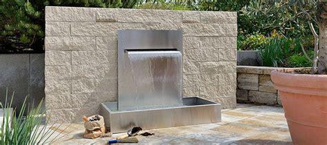 wasserwand garten 25 best outdoor water features images on