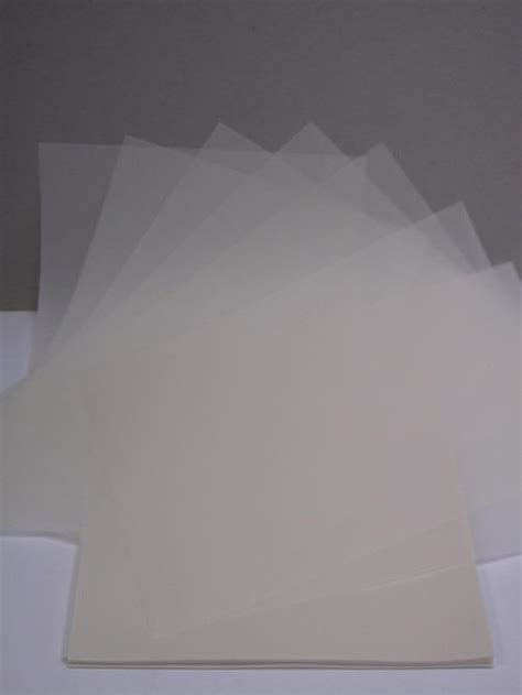 Tracing Paper Crafts - vellum translucent tracing paper 200gsm a4 in 15 s or 50 s