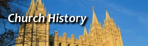 lds church history tour itinerary