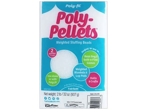 poly fil micro fairfield poly fil poly pellets 32 oz ebay