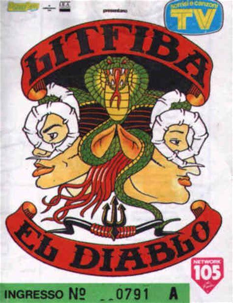 testo el diablo litfiba concerti