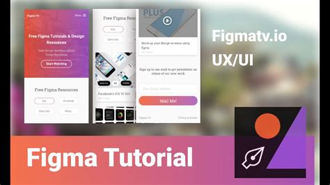 Home Design Gold App Tutorial by Figma App Design Workflow Mobile Best Free Home