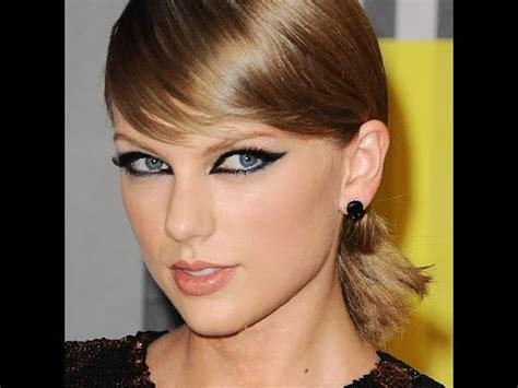 taylor swift inspired makeup mtv vma 2015 taylor swift inspired eye makeup youtube