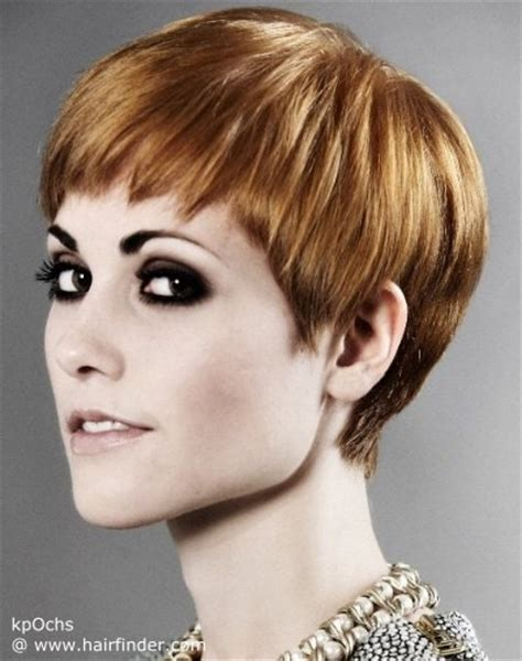 Full pixie haircut