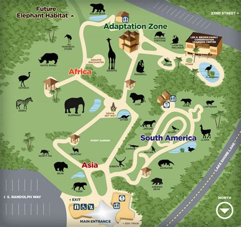 zoo layout design reid park zoo by dennis fesenmyer at coroflot com