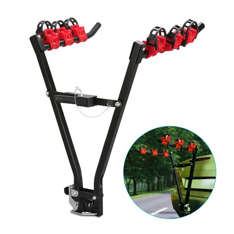3 Bike Car Rack by 3 Bicycle Mount Car Cycle Carrier Hatchback Rear Bike