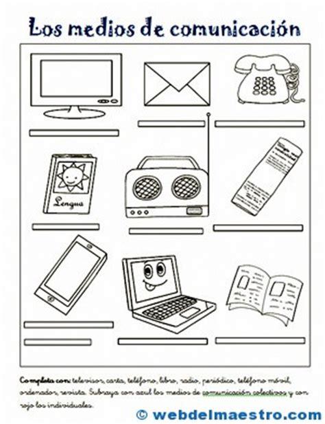 imagenes para colorear los medios de comunicacion medios de comunicaci 243 n para ni 241 os 2 medios cominicacion