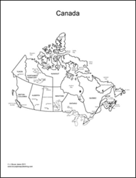 Usa Maps And The 50 Usa States Coloring Book Canada Map Coloring Page