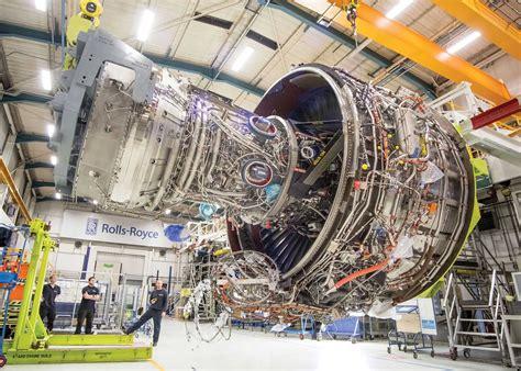 Rolls Royce Xwb by Rolls Preps A350 1000 S Big Trent Xwb 97 For Tests On A380