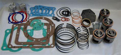 Quincy Set quincy 5105 4 valve set tune up kit replacement valves air