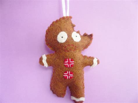 gingerbread man ornament funny christmas ornaments on luulla