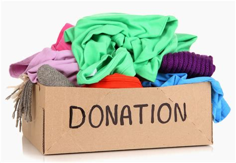 How To Make A Donation Box Out Of Paper - annual clothing drive npx pso