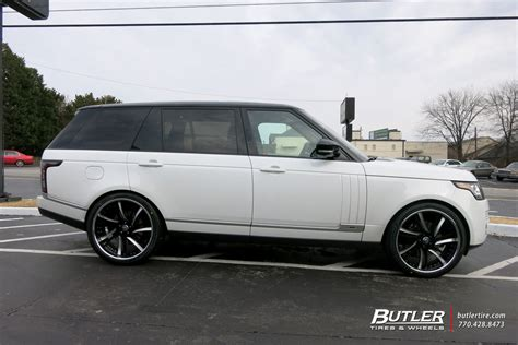 range rover 24 wheels land rover range rover with 24in lexani ls736 wheels