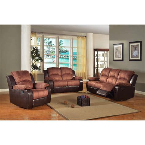 Two Tone Living Room Furniture Two Tone Living Room Furniture Two Tone Reclining Sofa And Loveseat Set Room Set