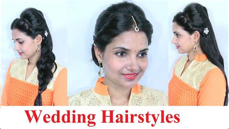 Indian Wedding Hairstyles For Medium Hair by Indian Wedding Hairstyles For Medium To Hair