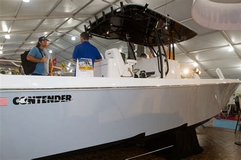 center console boats over 35 feet center consoles over 30 feet at miami boat show sport