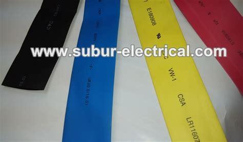 Heatshrink Bakar aksesoris kabel subur electrical