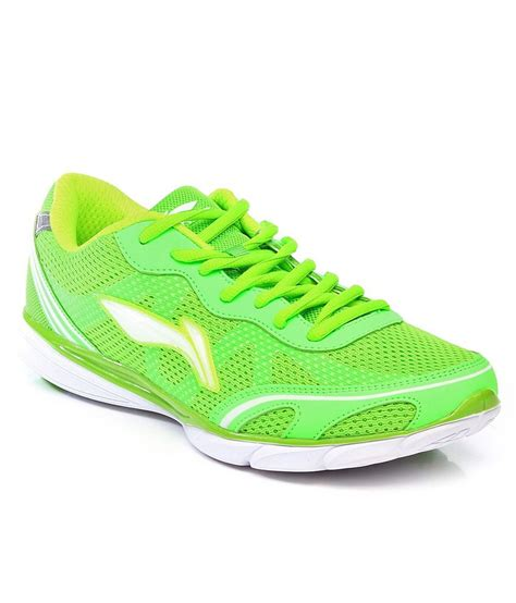 green sport shoes li ning green sport shoes price in india buy li ning
