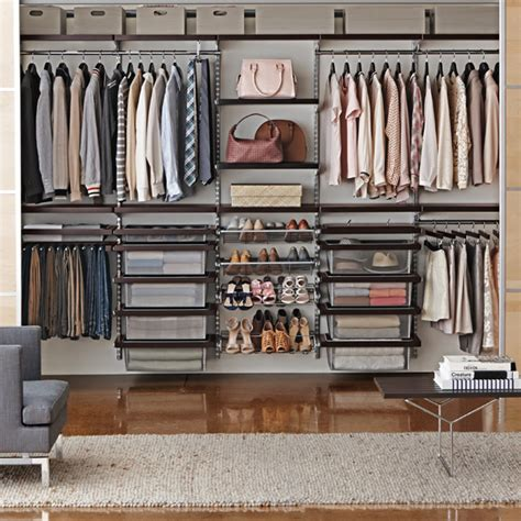Elfa Wardrobe System by Elfa Shelving Wall Shelves Shelving Systems The