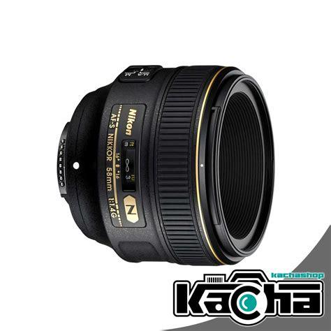 Nikon Af S 58mm F 1 4g Lens new nikon af s nikkor 58mm f 1 4g lens f1 4 g