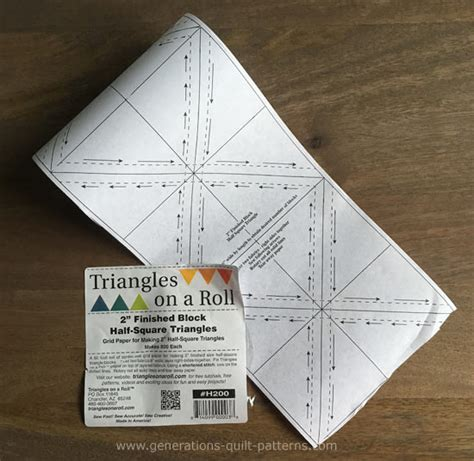 triangle pattern problem what s the best triangle paper for you