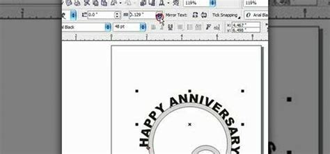 how to curve text in coreldraw x5 how to put text on a curve in corel draw x3 171 software