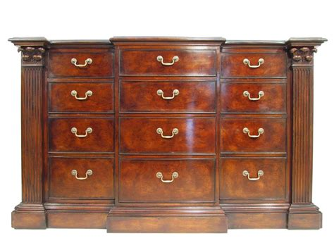 antique cherry wood chest of drawers a large ralph lauren cherry wood antique style bank of