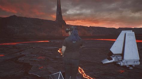 Wars Lava L Darth Vader by Wars Vr Experience Takes You To Vader S Lava Castle