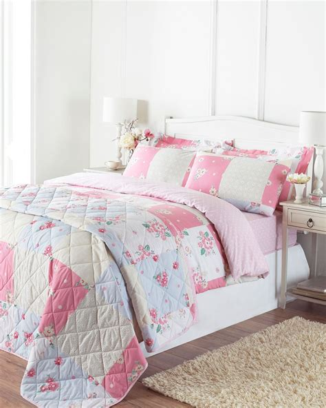 Tommony Bed Cover Single floral quilt duvet cover pillowcase bedding bed set single king country ebay
