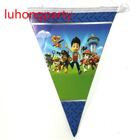 Bunting Flags Banner Happy Birthday Bulat Motif Mix 2packs 10pcs pack theme flags birthday supplies pennant bunting