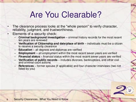 Security Clearance Spouse Criminal Record Want A Security Clearance This Is What You Need To