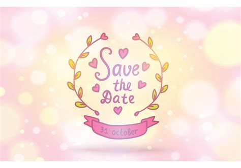 free save the date vector background download free