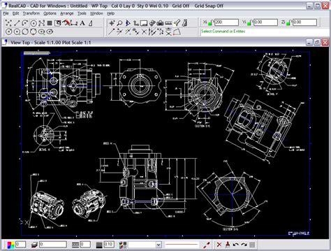 layout plan cad realcad pro