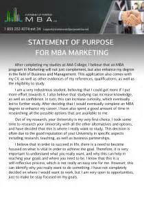 Statement of purpose for mba marketing sample jpg
