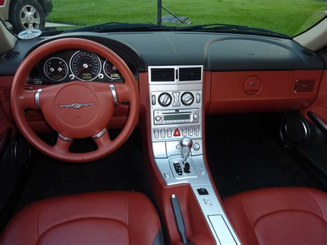 Crossfire Interior by 2006 Chrysler Crossfire Interior Pictures Cargurus