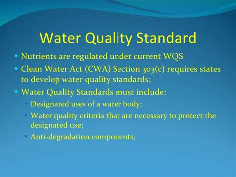 section 9 water act 9 9 fri 11 00 epa s numeric nutrient criteria 4