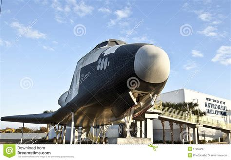 Experience Space Travel At The Astronaut Of Fame by Space Shuttle At The Astronaut Of Fame Royalty Free