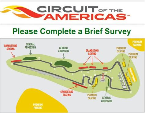 Complete Survey - cota 3 day passes ticketing surveyracing ready racing ready the amateur racing