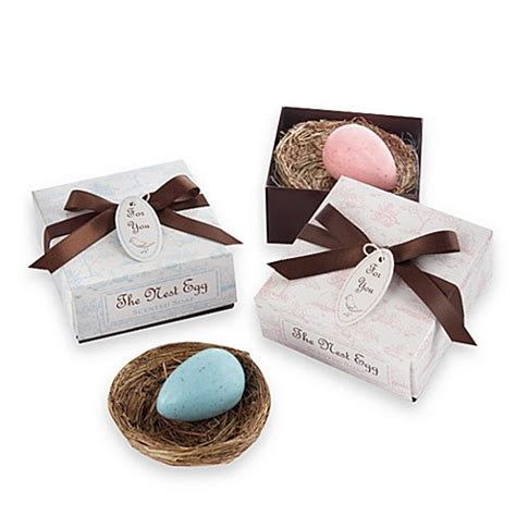 Kate Aspen Baby Shower Favors by Kate Aspen 174 Blue Egg Soap In A Nest Baby Shower Favor