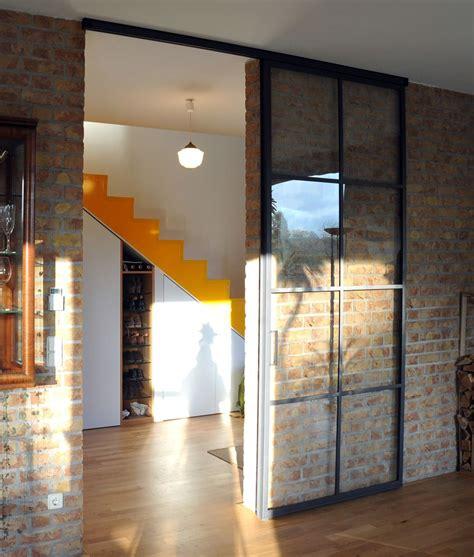 geã tztes glas doors schlanke stahl glas schiebet 252 r house