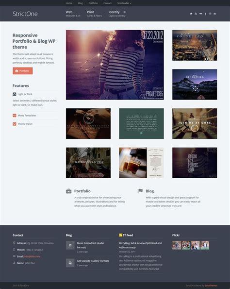 theme ref blog 17 best images about wordpress portfolio themes on