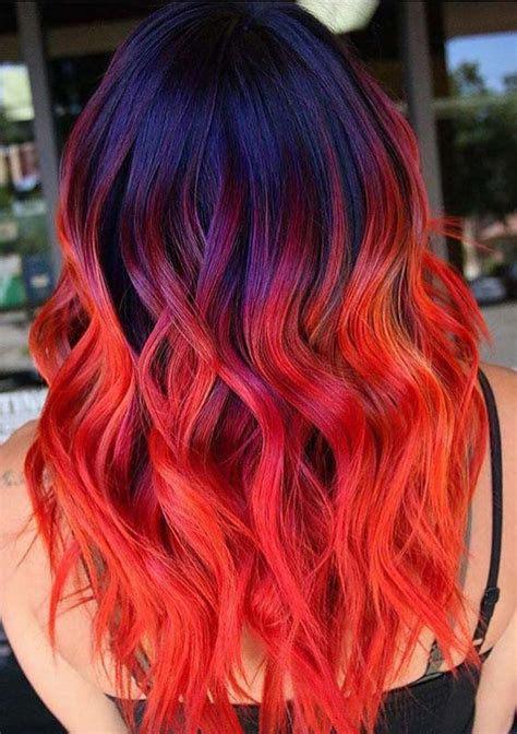 bright hair color ideas 18 bright hair color ideas to sport in 2018 hollysoly