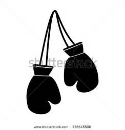 boxing gloves icon stock images royalty free images