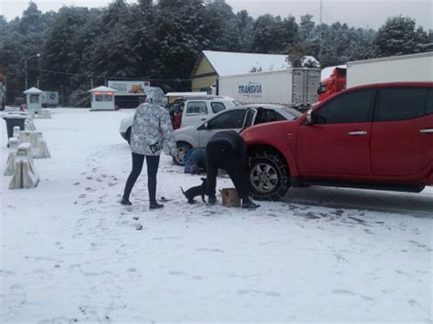 cadenas para nieve temuco la nieve en el complejo cardenal samor 233 obliga al uso de