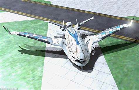 flight in 2030 progress eagle concept plane has three decks generates its own